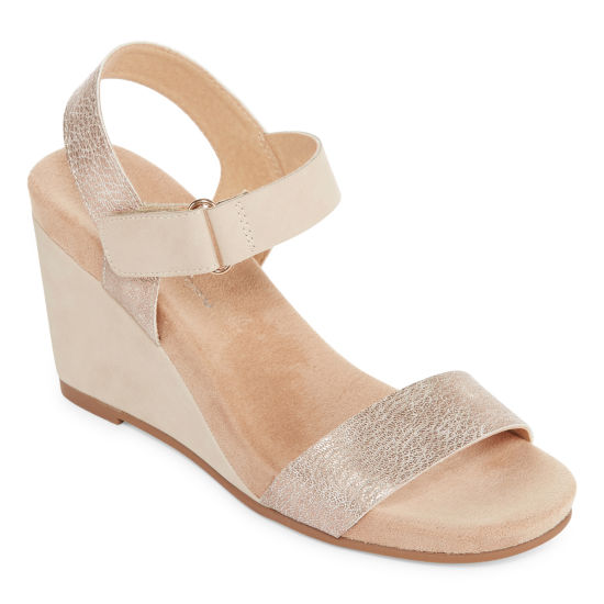 CL by Laundry Trish Womens Wedge Sandals