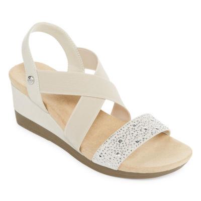 St. John's Bay Womens Warner Wedge Sandals