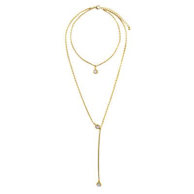 Arizona Womens 22 Inch Link Necklace