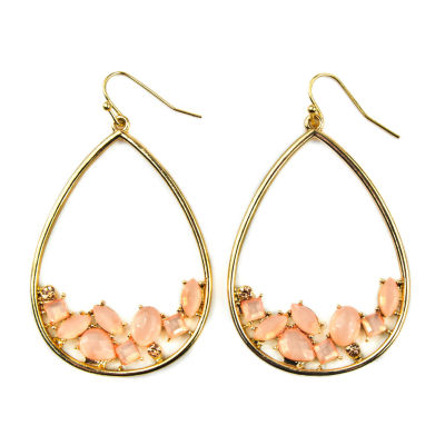Arizona Orange Drop Earrings