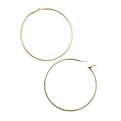 Arizona 80mm Hoop Earrings