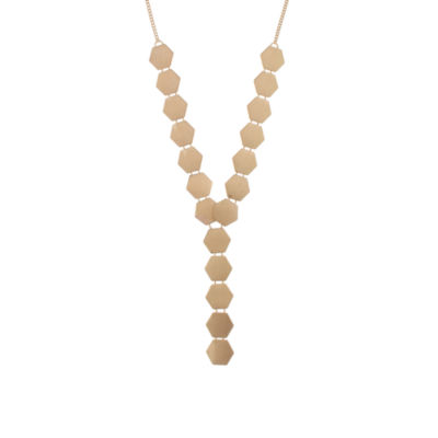 Bold Elements Womens Y Necklace