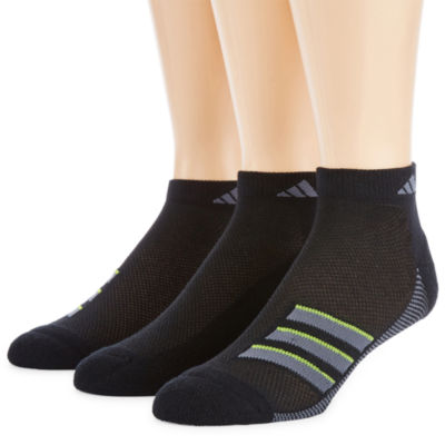 adidas 3 Pair Low Cut Socks-Mens