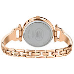 Laura Ashley Womens Rose Goldtone Bracelet Watch-La31027rg