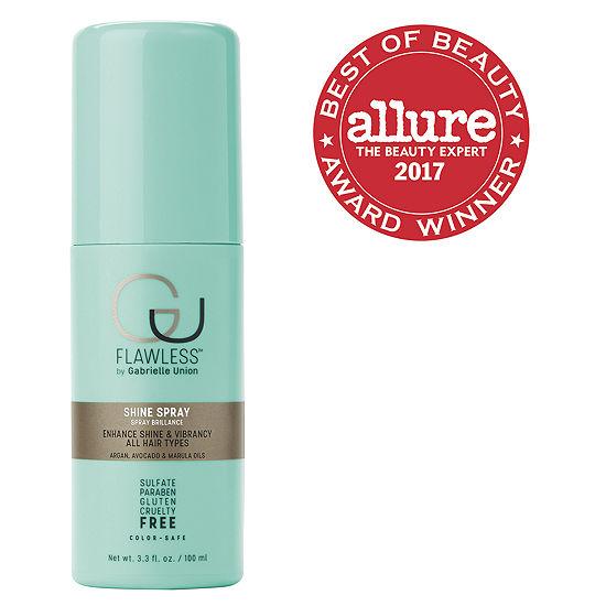 Flawless By Gabrielle Union Shine Spray Hair Spray-3.3 oz.