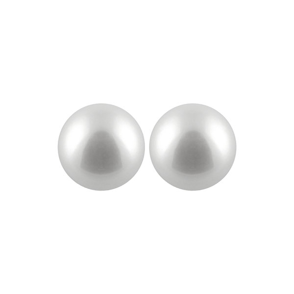 Pearl 14K Gold Stud Earrings