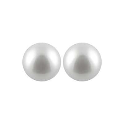 Cultured Akoya Pearl 14K Gold 5mm Stud Earrings