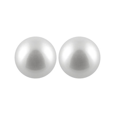 Cultured Akoya Pearl 14K Gold 8mm Stud Earrings
