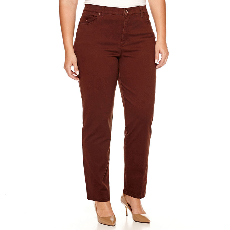 Gloria Vanderbilt Amanda Jeans - Plus plus size,  plus size fashion plus size appare