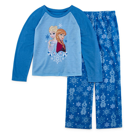 Disney Little & Big Girls 2-pc. Frozen Pant Pajama Set