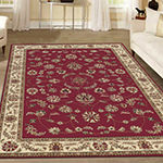 Como Intricate Traditional Oriental Area Rug