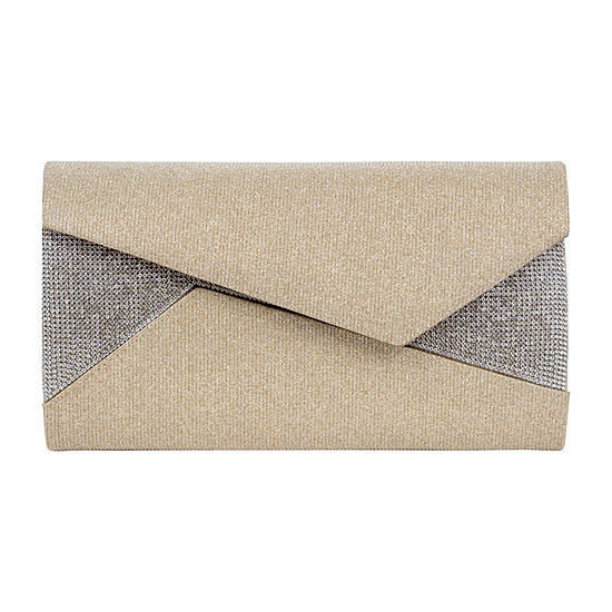 Vie And Rose Asymmetrical Flap Evening Bag