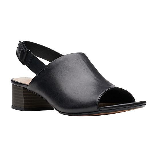Clarks Womens Elisa Lyndsey Strap Sandals