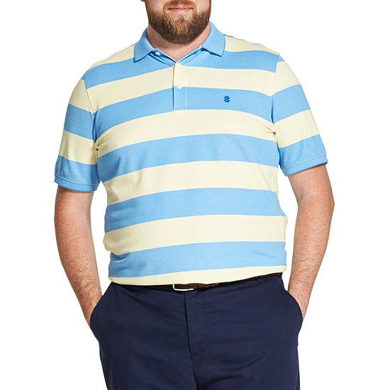 IZOD Mens Short Sleeve Polo Shirt - Big and Tall