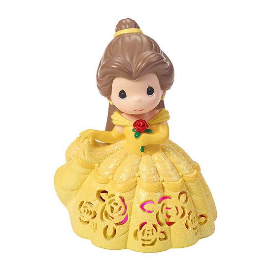 Precious Moments Disney Belle Led Musical Tabletop Decor