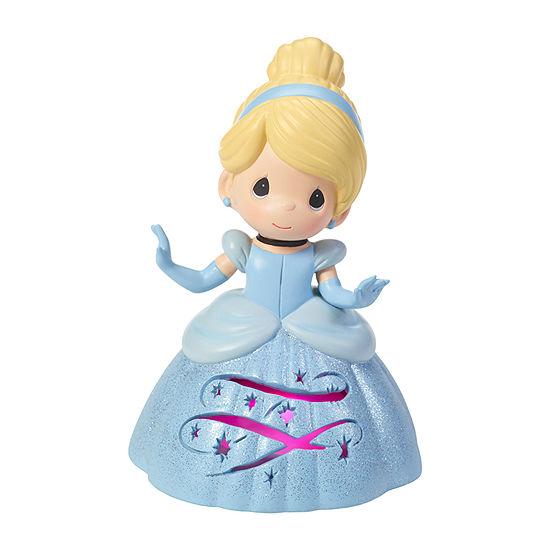 Precious Moments Disney Cinderella Led Musical Tabletop Decor