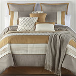 JCPenney Home Carissa 10-pc. Jacquard Embroidered Comforter Set