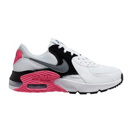 Nike Air Max Excee Womens Running Shoes, 6 Medium, White ...