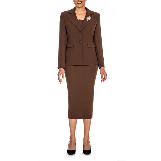 Giovanna Signature Skirt Suit-Plus