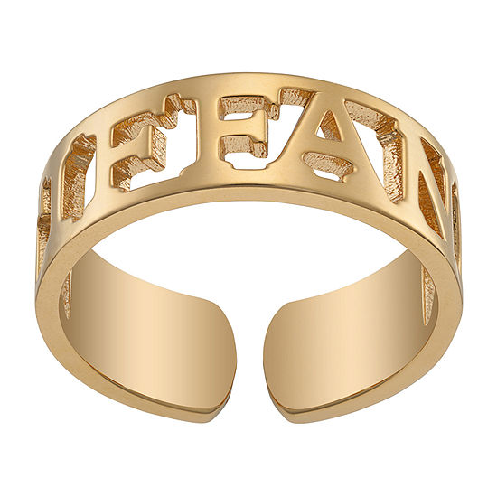 Womens 5.5MM 14K Gold Over Silver Band