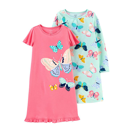 Carter's 2-pc. Girls Nightgown Round Neck