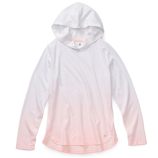 Xersion Little Kid / Big Kid Girls Hooded Neck Long Sleeve Tunic Top