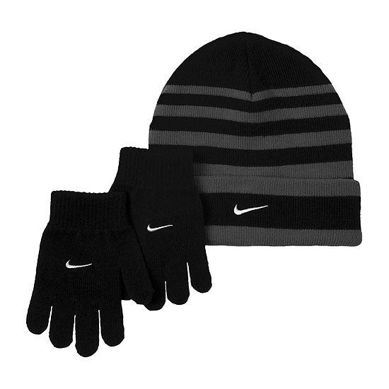 Nike Boys 2-pc. Striped Cold Weather Set-Big Kid