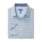 Van Heusen Never Tuck Long Sleeve Button-Front Shirt