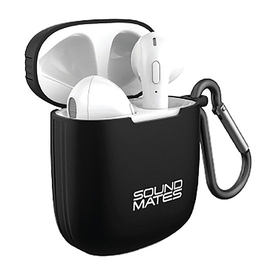 Tzumi SoundMates 5.0 Wireless Stereo Earbuds with Wireless Charging Case