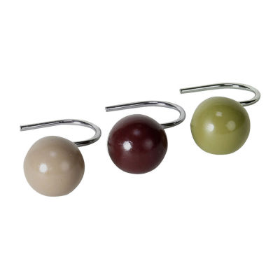 Madison Stripe Shower Curtain Hooks