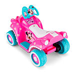 Kid Trax Disney Minnie Mouse Hot Rod 6volt Toddler Quad Electric Ride-On
