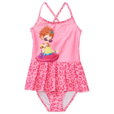 Disney Collection Little & Big Girls Fancy Nancy One Piece Swimsuit