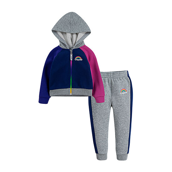 Crayola Girls 2-pc. Pant Set Toddler