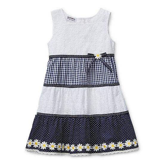 Blueberi Boulevard - Toddler Girls Sleeveless Sundress
