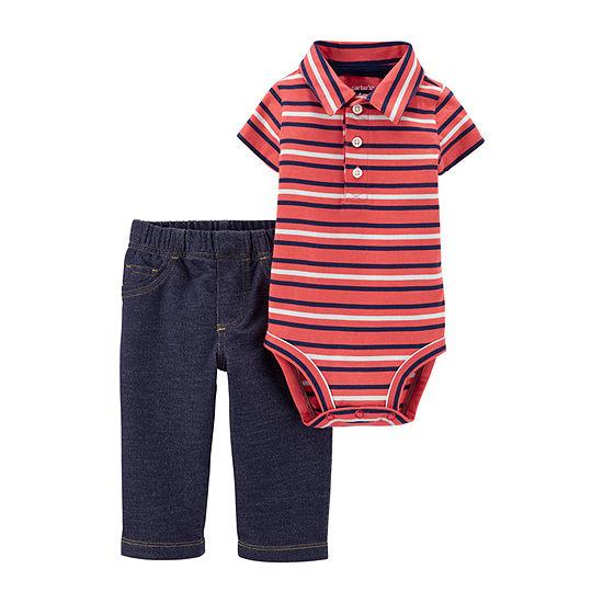 Carter's Baby Boys Bodysuit Set