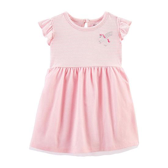 Carter's Baby Girls Short Sleeve A-Line Dress