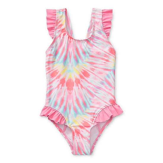 Okie Dokie Toddler Girls One Piece Swimsuit