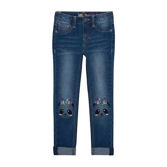 Lee Little Kid Girls Mid Rise Skinny Fit Jean