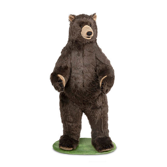 Melissa & Doug Grizzly Bear - Plush