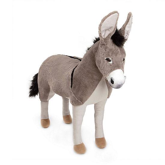 Melissa & Doug Lifelike Plush - Donkey