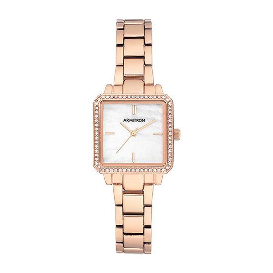 Armitron Womens Rose Goldtone Bracelet Watch-75/5589mprg