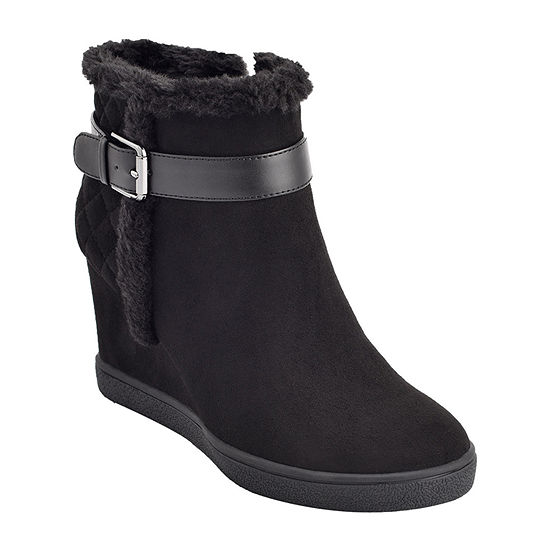 Unisa Womens Madazi Wedge Heel Booties