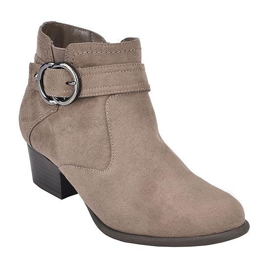 Unisa Womens Pendy Booties Block Heel