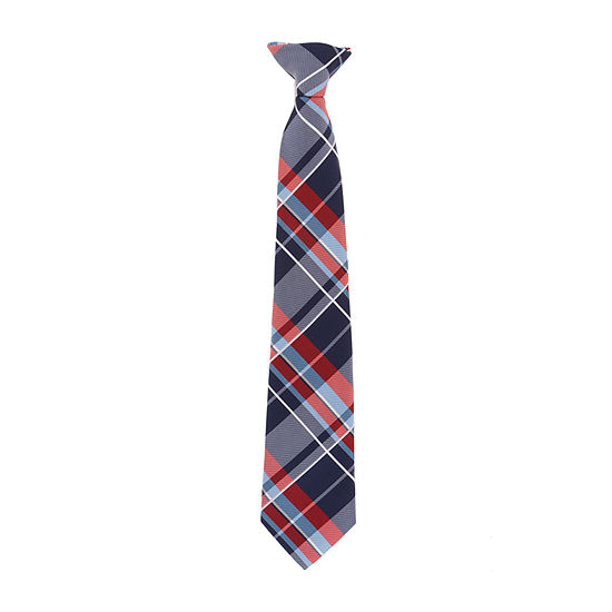Van Heusen Plaid Clip on Tie