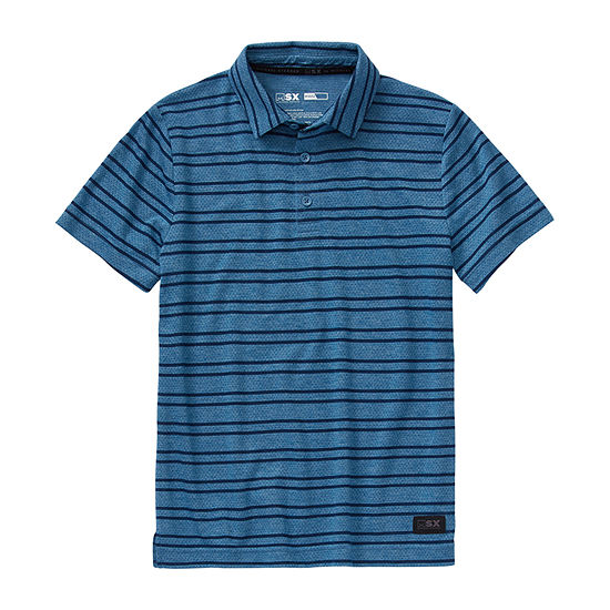Msx By Michael Strahan Big Boys Short Sleeve Polo Shirt