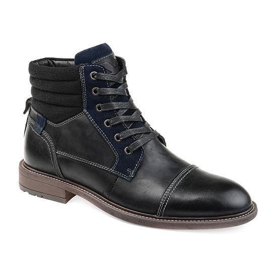 Vance Co Mens Everett Chukka Boots Block Heel