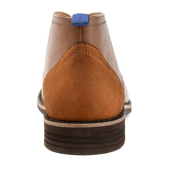 Vance Co Mens Twain Chukka Boots Block Heel