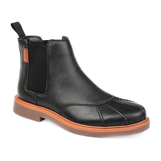 Vance Co Mens Tanner Chukka Boots Block Heel