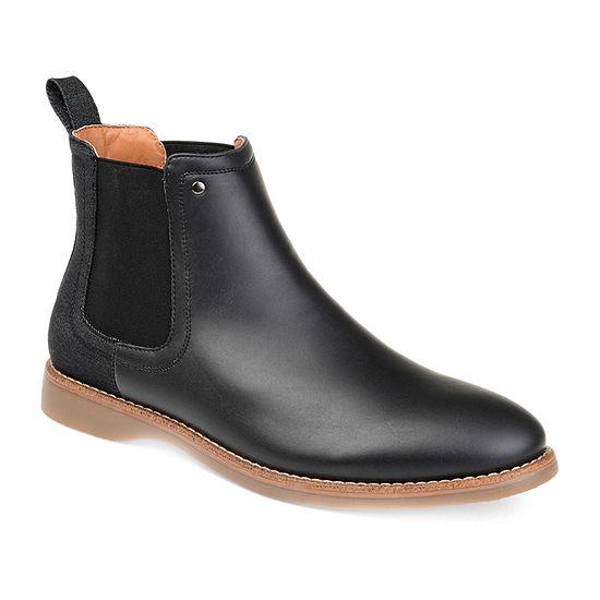 Vance Co Mens Porter Chukka Boots Block Heel