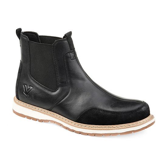 Vance Co Mens Blaze Chukka Boots Block Heel